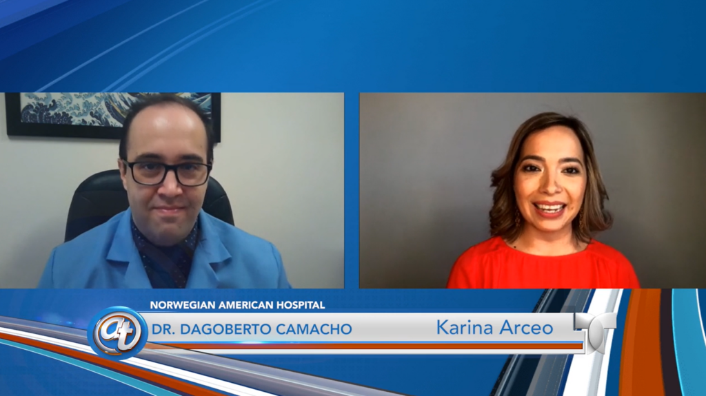 Dr. Dagoberto Camacho featured on Acceso Total – Spanish
