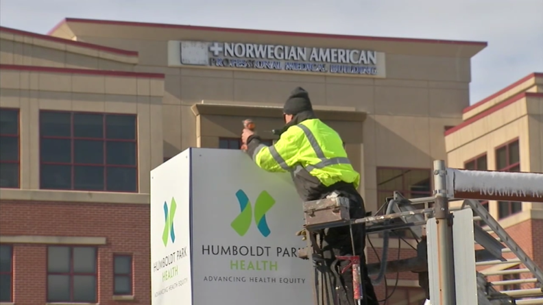 Norwegian American Hospital renamed Humboldt Park Health